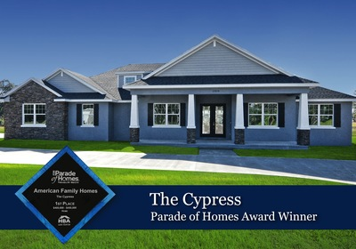 American Family Homes Wins Big for The Cypress Model