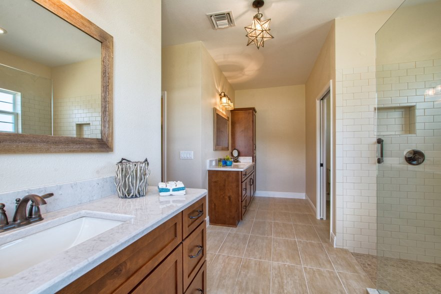 Bathrooms for American family homes